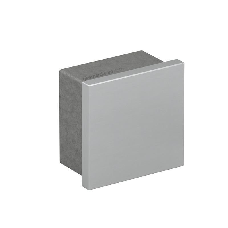 Square Flat End Cap For 1.5 Square Post 1