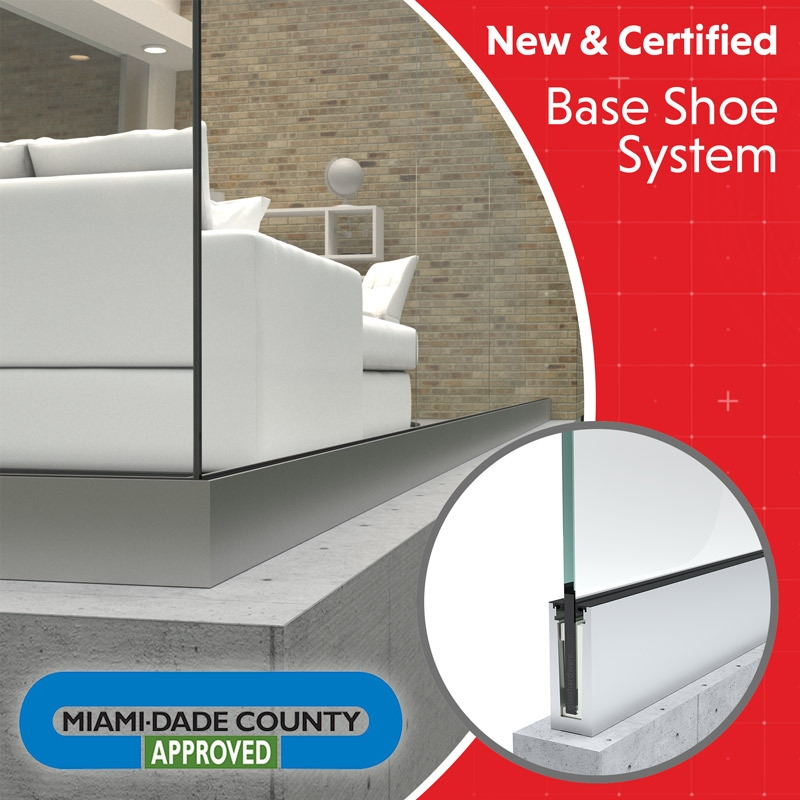 Miami Dade County Approved Base Shoe System