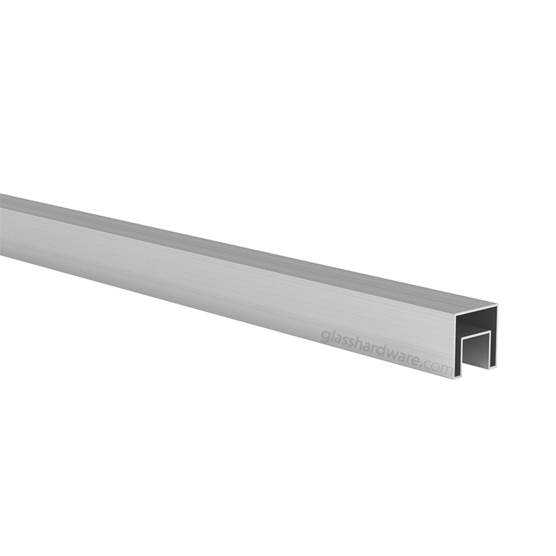 Square Slotted Tube 1- 9/16 x 19.8 Lenght 1